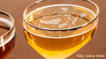 Ein Glas helles belgisches Bier