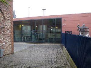 Moderne Produktionsstätte St. Feuillien-Brauerei, Le Roeulx, Belgien